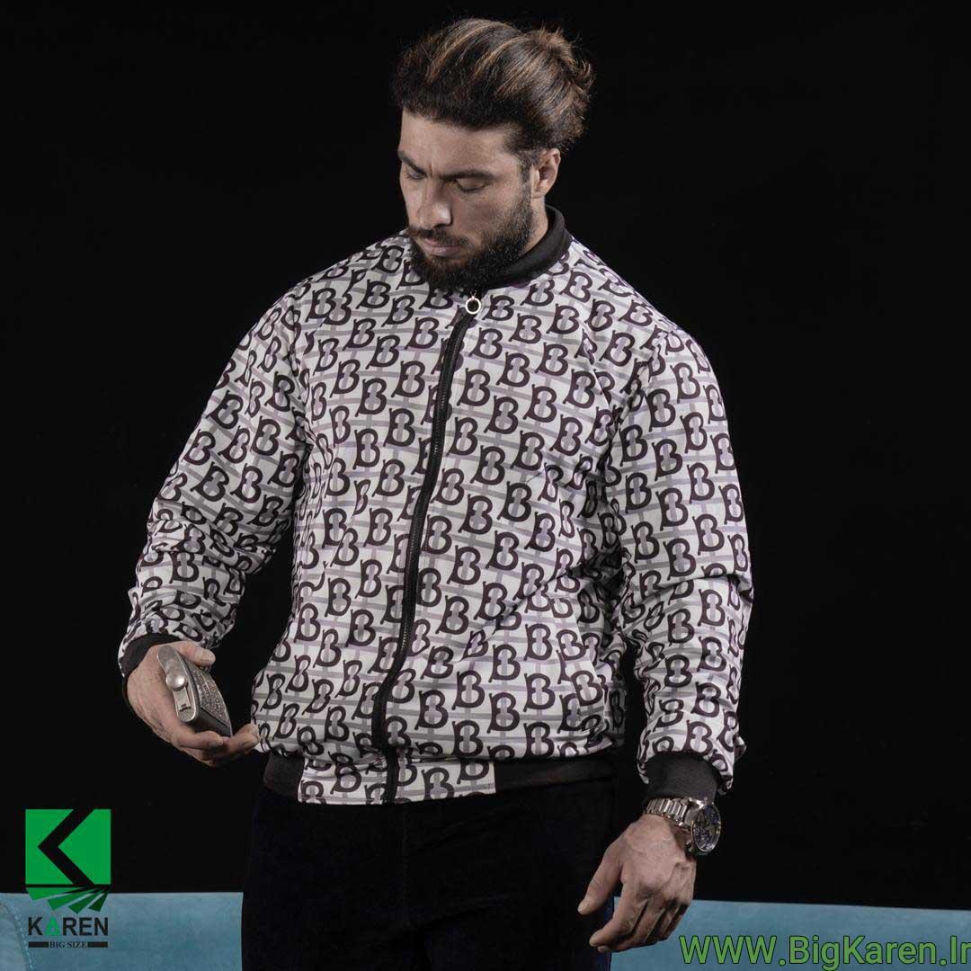 سویشرت سایز بزرگ مردانه مدل burberry