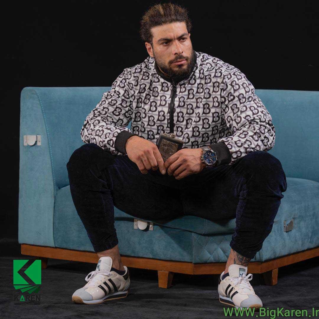 خرید اینترنتی سویشت سایز بزرگ مردانه ارزان مدل burberry