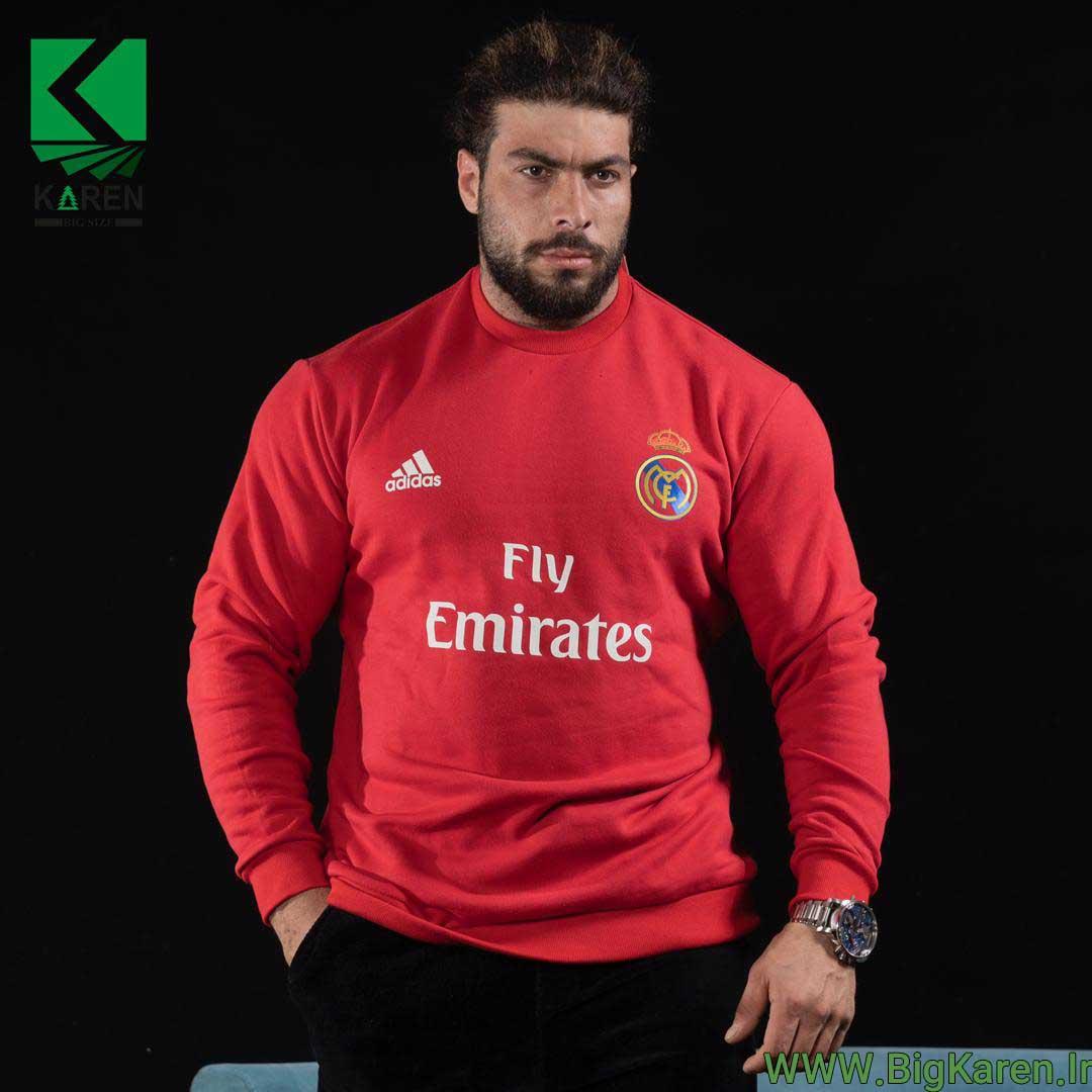 دورس Real Madrid سایز بزرگ رنگ قرمز