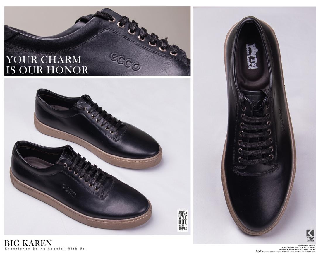 کفش چرم سایز بزرگ مردانه با تخفیف ویژه و ارسال رایگان مشکی