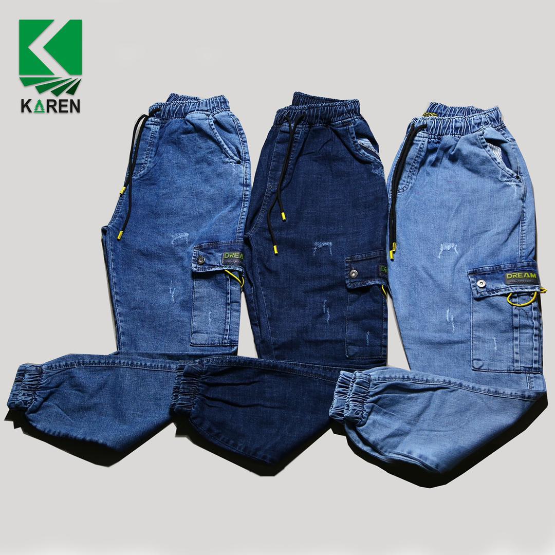 خرید شلوار جین سایز بزرگ شیش جیب