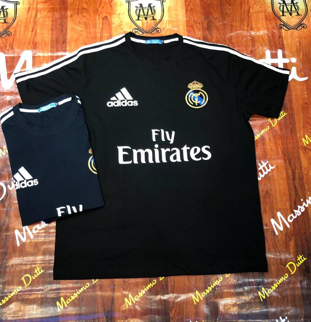 خرید اینترنتی تیشرت سایز بزرگ مردانه رئال مادرید