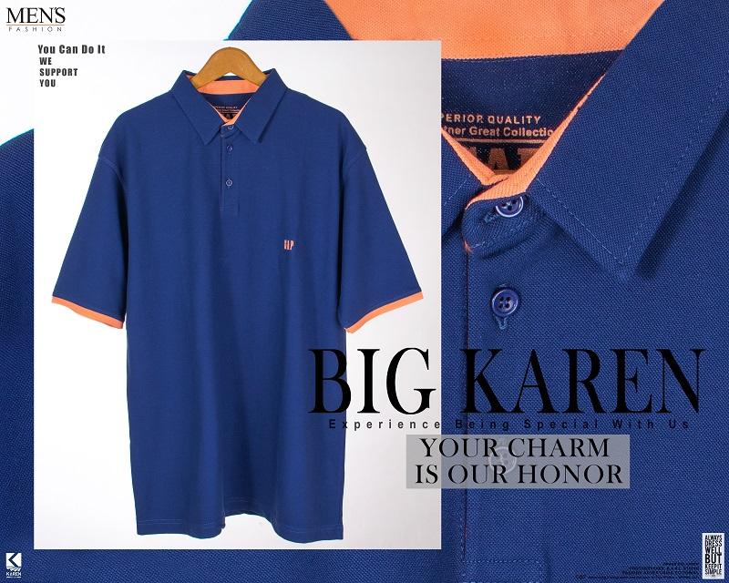 پولوشرت سایز بزرگ مردانه مدل Gap رنگ آبی