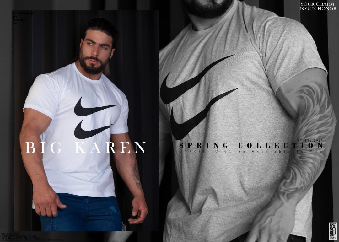 خرید تیشرت سایز بزرگ مردانه پشت بلند کد ۱۷۰ رنگ سفید