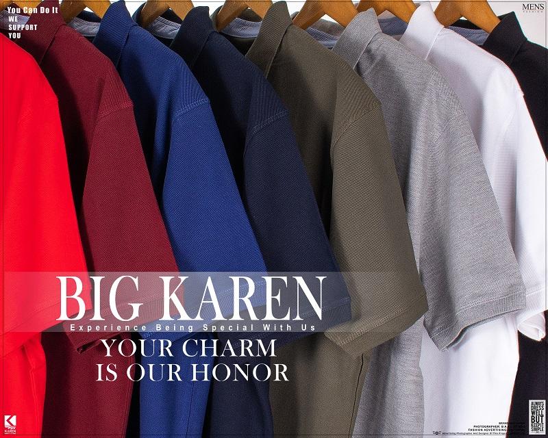 رنگبندی پولوشرت سایز بزرگ مردانه کد ۱۶۶