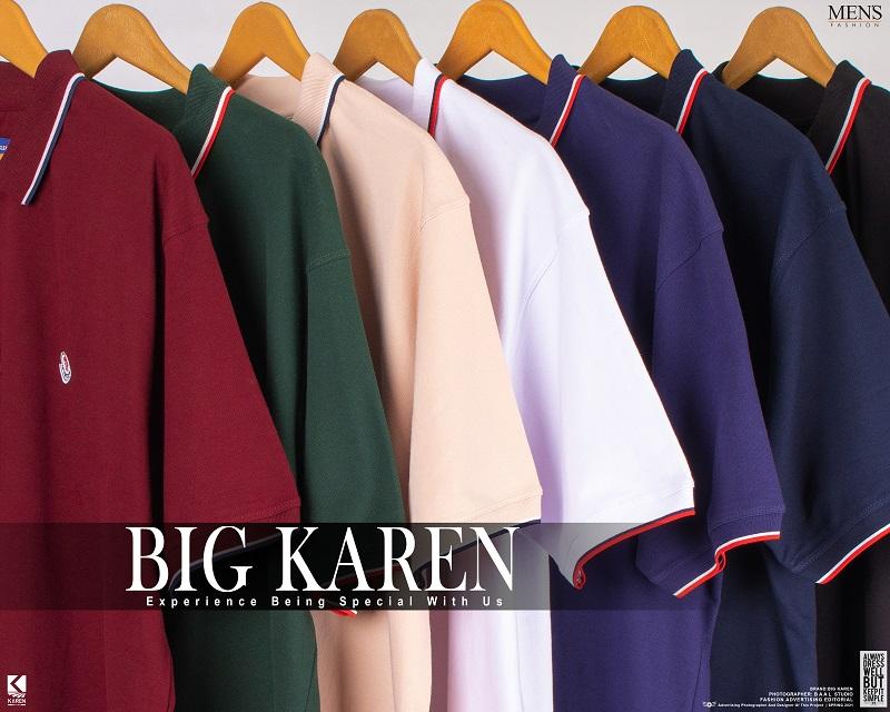 رنگ بندی های پولوشرت سایز بزرگ مردانه