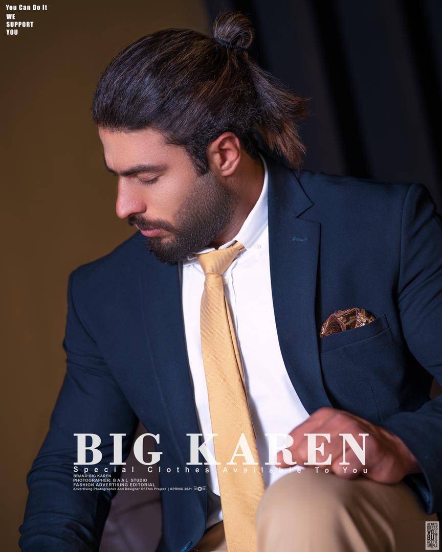خرید کت سایز بزرگ مردانه رنگ سرمه ای کد ۱۰۱