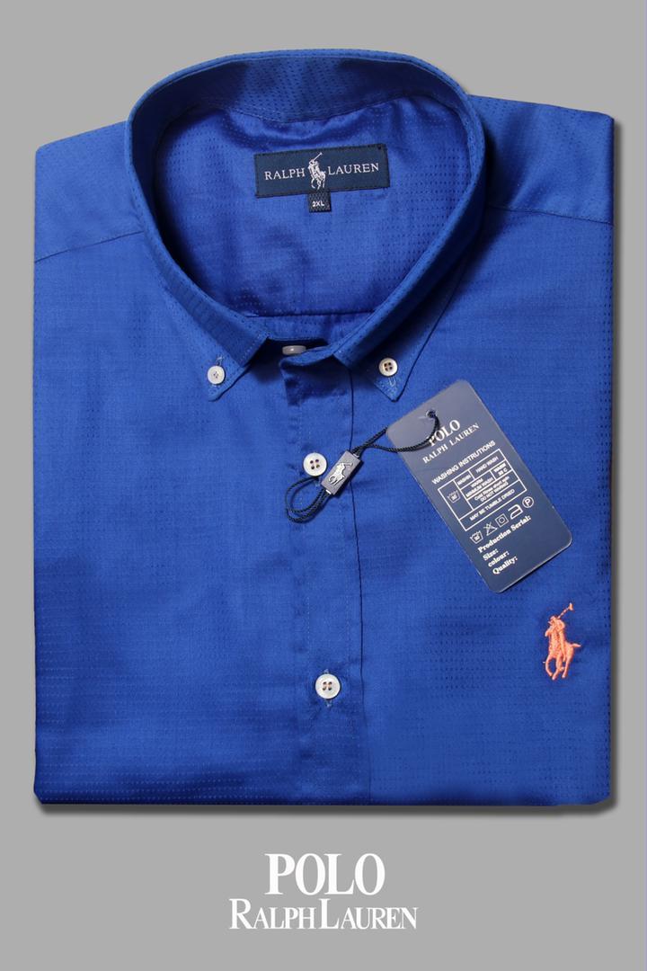 پیراهن سایز بزرگ پارچه آکارد آستین کوتاه - کد 190