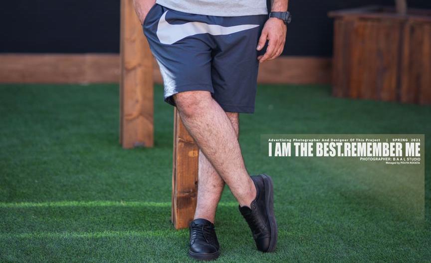 شلوارک سایز بزرگ مردانه Nike - کد 130